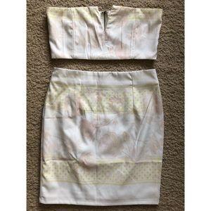 Two Piece Skirt & Crop Set